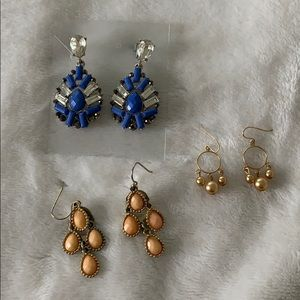 Dangly earring bundle of 3 pairs!